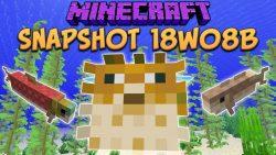 Minecraft 1.13 Snapshot 18w08b