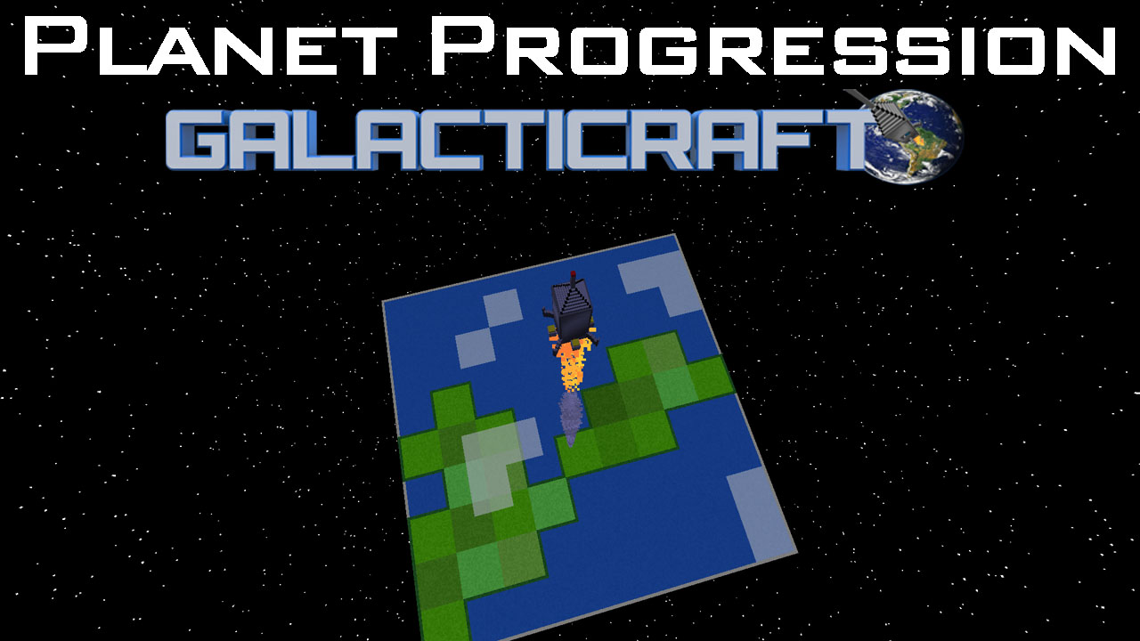 Galacticraft Planets planet progression mod 1.12.2/1.11.2 for galacticraft