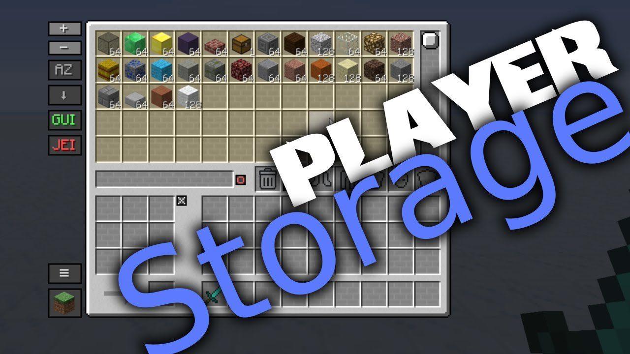 Player Storage Mod Additional Storage MinecraftNet - Minecraft spieler finden mod