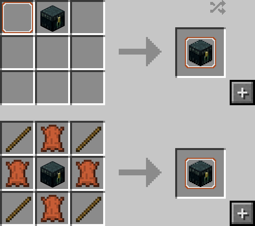 Portable Crafting Table Mod