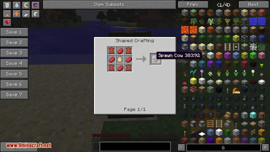 Crafting Spawners Mod