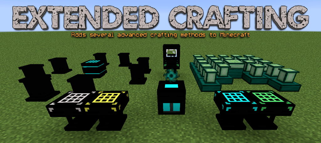 Extended Crafting Mod for Minecraft logo