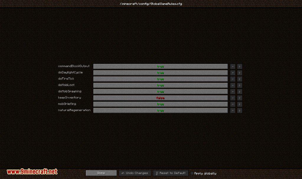 Global GameRules Mod Screenshots 1
