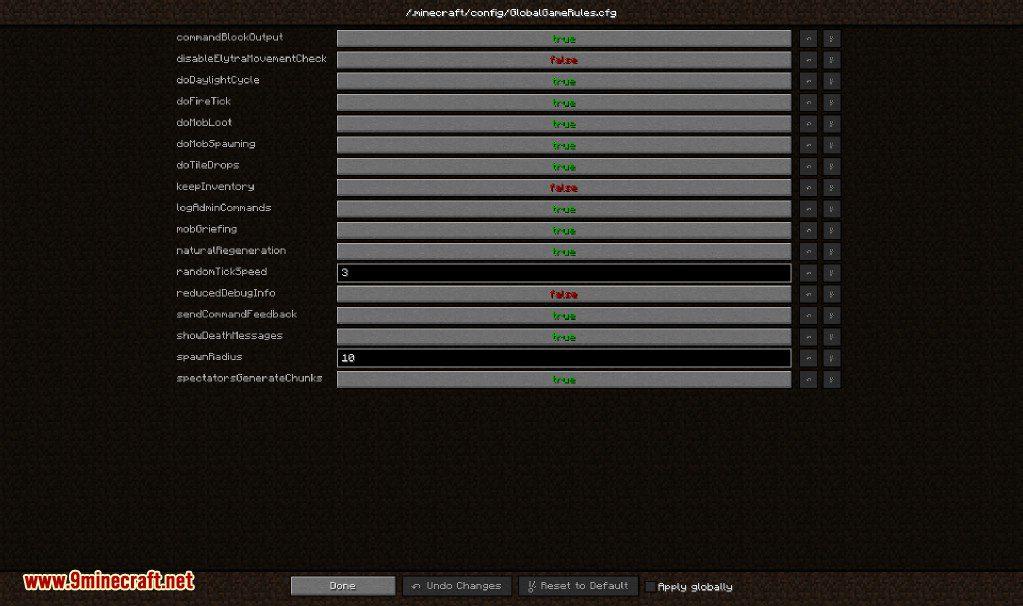 Global GameRules Mod Screenshots 4