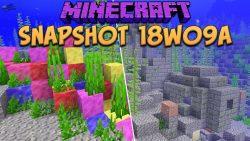 Minecraft 1.13 Snapshot 18w09a