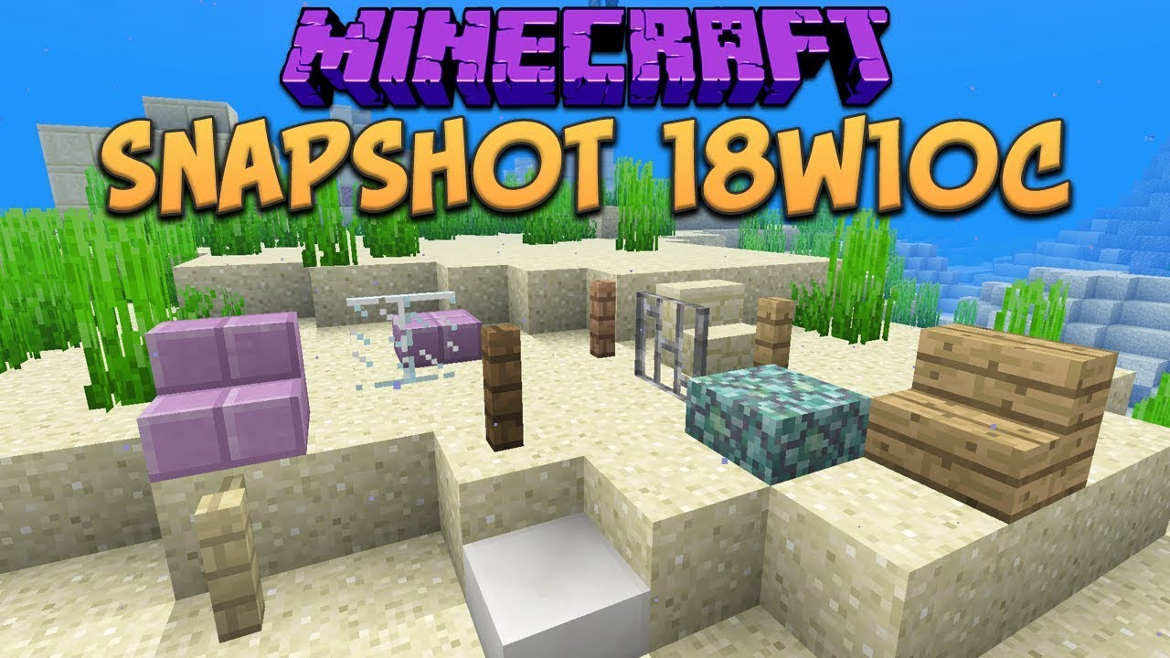 How To Craft Fences In Minecraft Snapshot