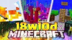 Minecraft 1.13 Snapshot 18w10d
