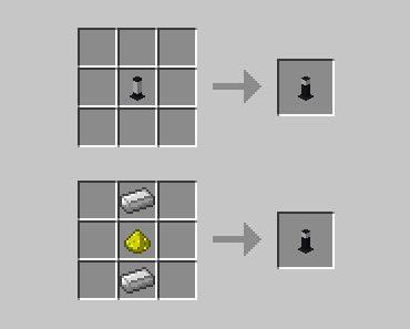 Modern Light Mod Crafting Recipes 1