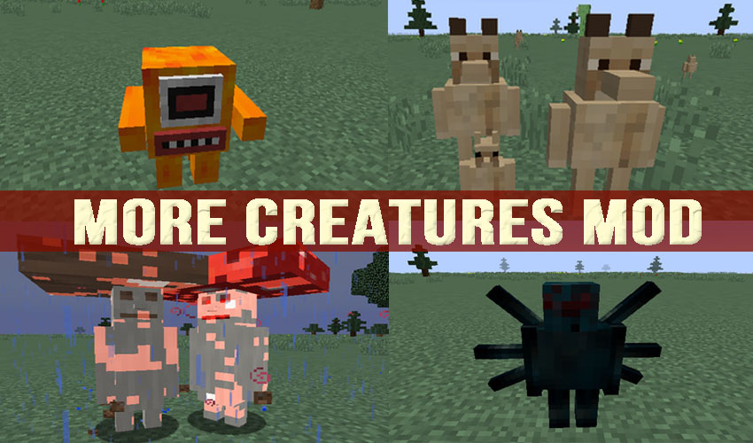 More Creatures Mod 1 12 2 (New Monstrous Mobs) - 9Minecraft Net