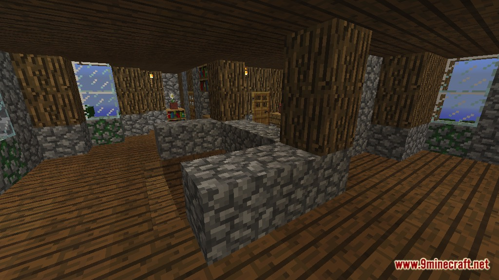 Rustic Mansion Map 1 12 2 1 11 2 For Minecraft