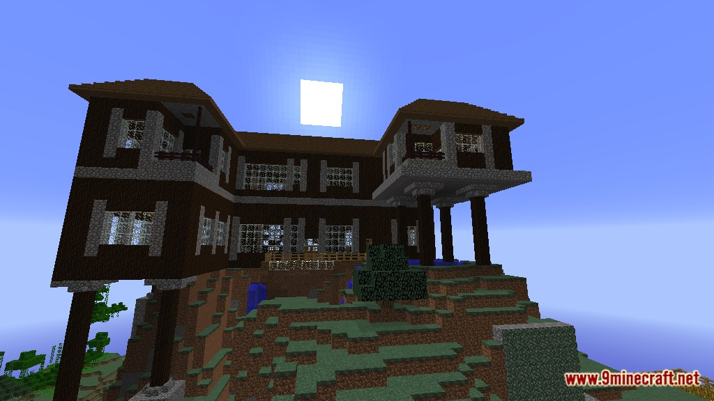 Spruce Mountain Manor Map 1 12 2 1 12 For Minecraft 9minecraft Net