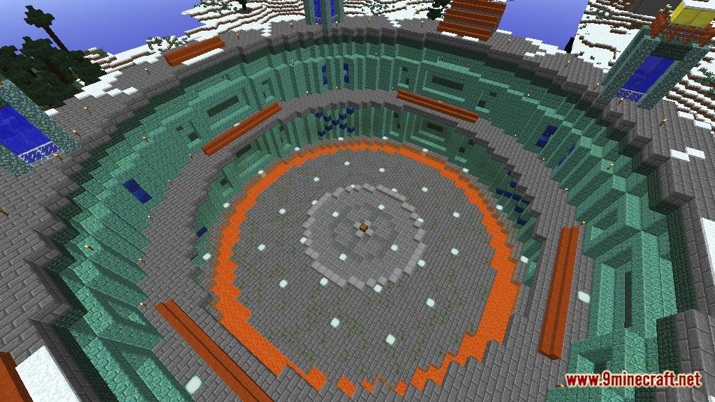 The Omega Arena Map 1 12 2/1 12 for Minecraft - 9Minecraft Net