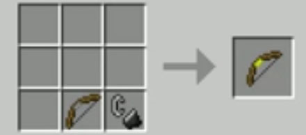 Torch Bow Mod Crafting Recipes 1