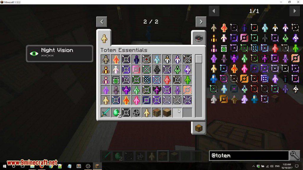 Totem Essentials Mod Screenshots 1