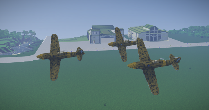 WWII Aricrafts Resource Pack Screenshots 5