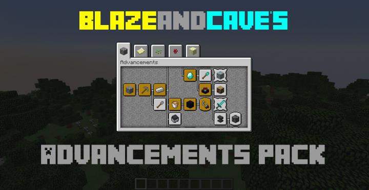 BlazeandCave's Advancements Resource Pack