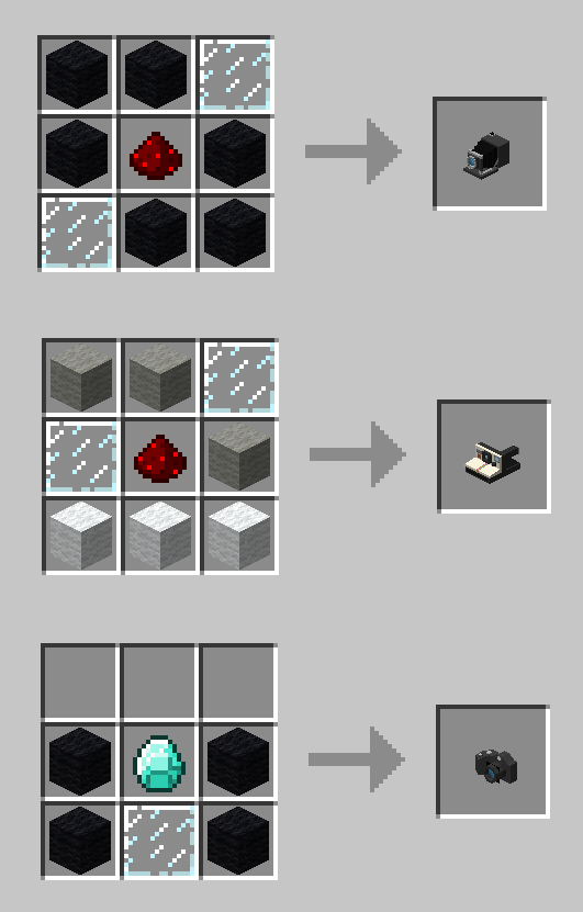 Camera Obscura Mod Crafting Recipes 1