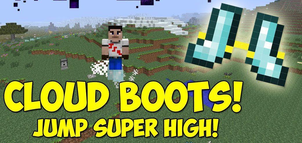 Cloud Boots Mod 1.15.2/1.14.4 (Jump