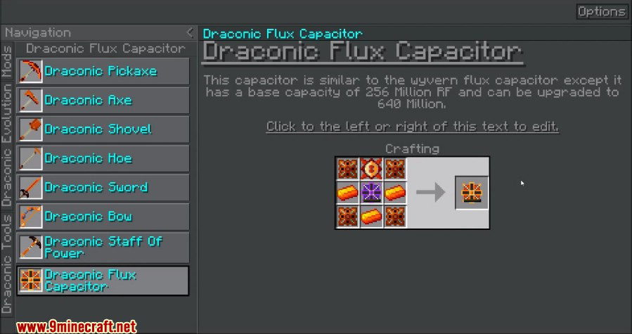 Draconic Evolution Mod Crafting Recipes 14