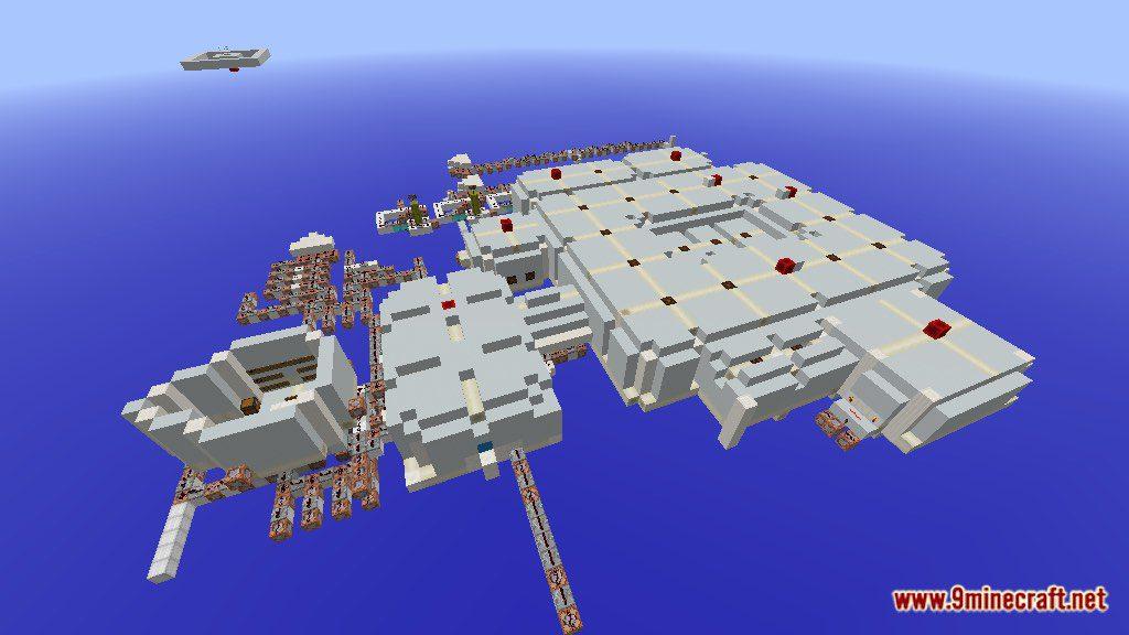 Escape the Space Ship Map Screenshots 1