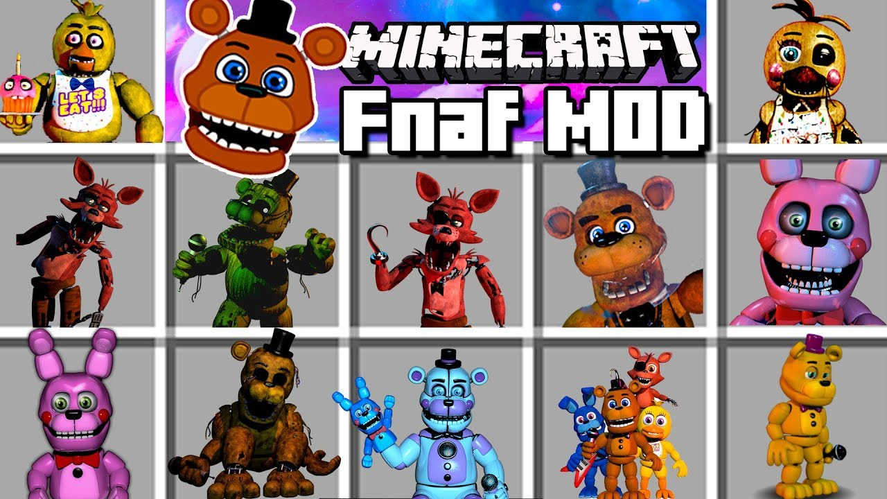 Five Nights at Freddy's Reborn Mod 1 12 2/1 7 10