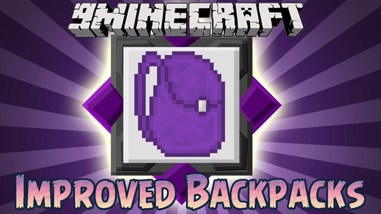 Improved Backpacks Mod
