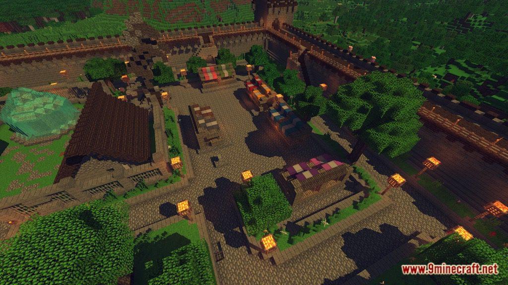 Medieval Fantasy Town Map Screenshots 1