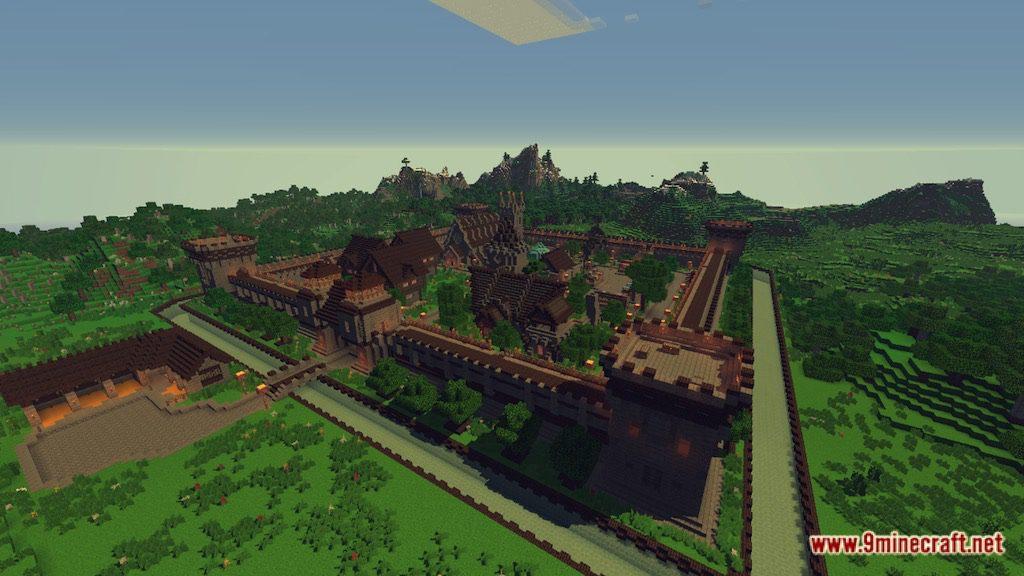 Medieval Fantasy Town Map Screenshots 11
