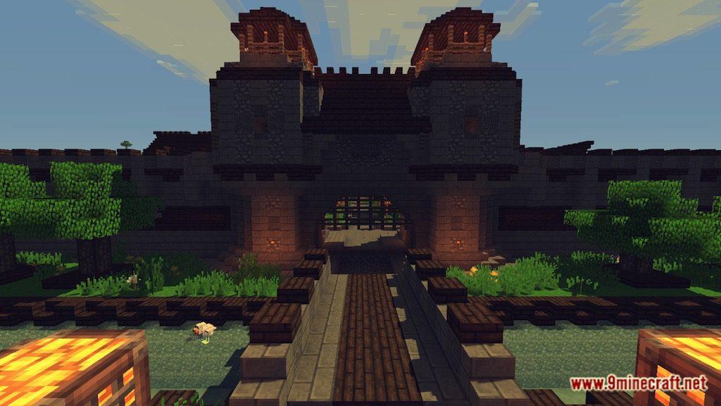Medieval Fantasy Town Map Screenshots 2
