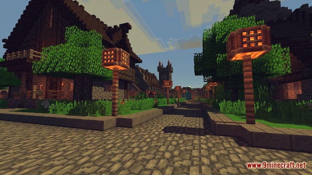 Medieval Fantasy Town Map Screenshots 5