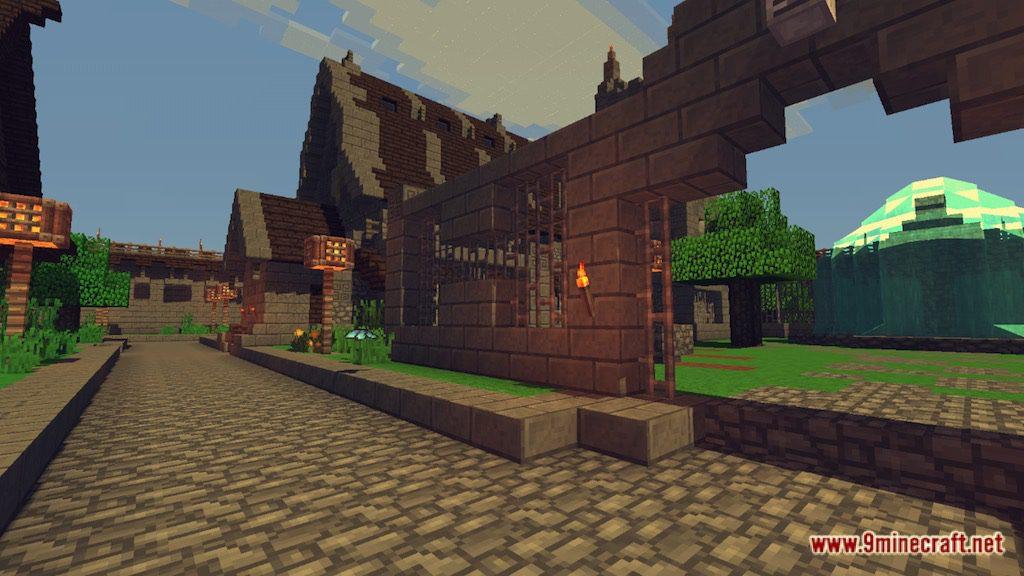 Medieval Fantasy Town Map Screenshots 6