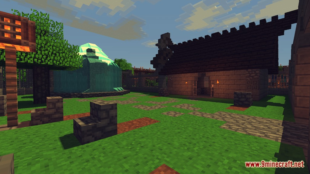 Medieval Fantasy Town Map Screenshots 7