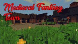 Medieval Fantasy Town Map Thumbnail