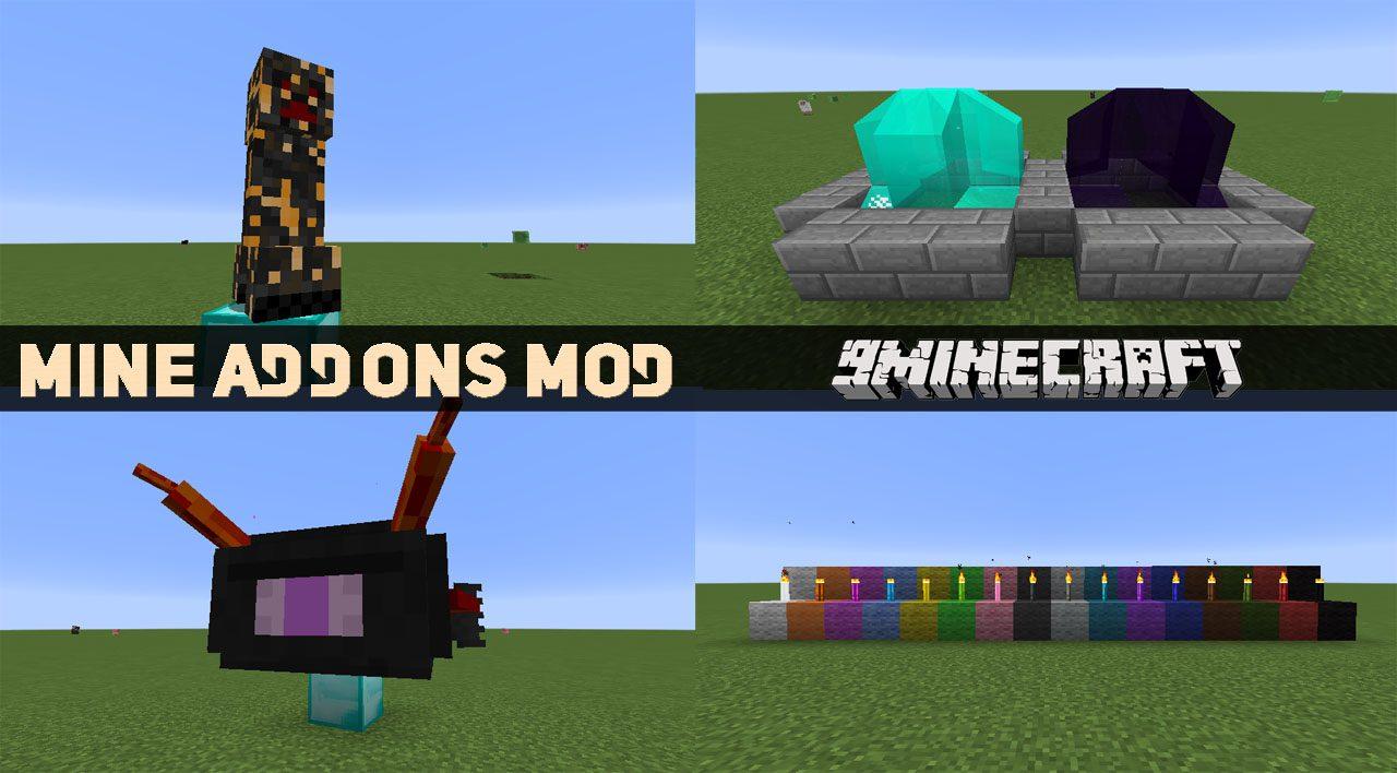 Mine Addons Mod