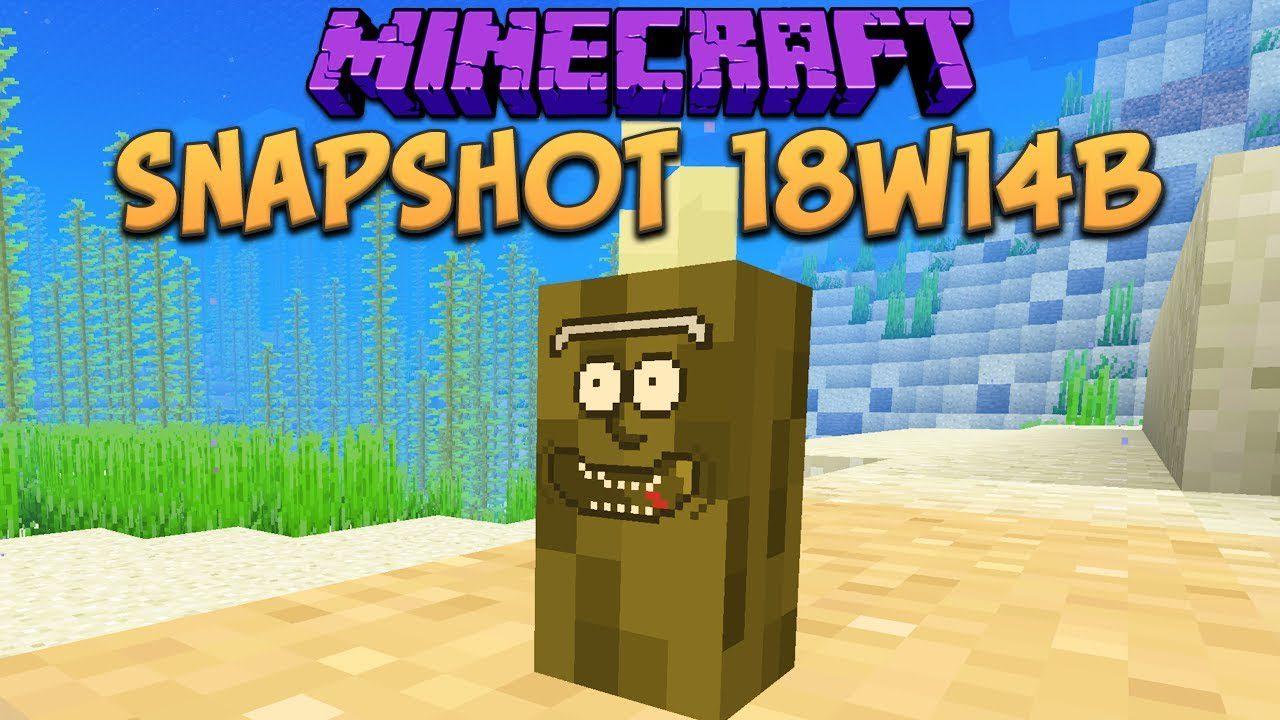 Minecraft 1.13 Snapshot 18w14b