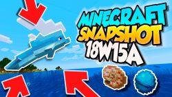 Minecraft 1.13 Snapshot 18w15a