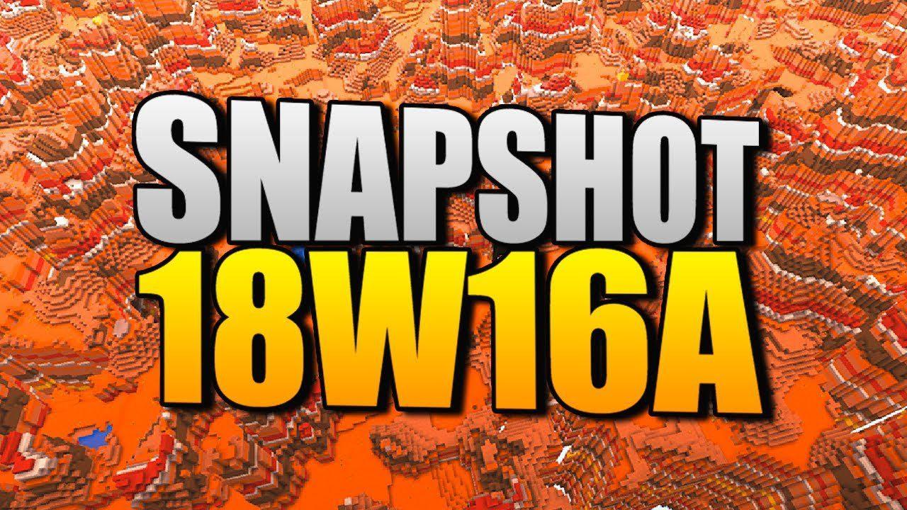 Minecraft 1.13 Snapshot 18w16a