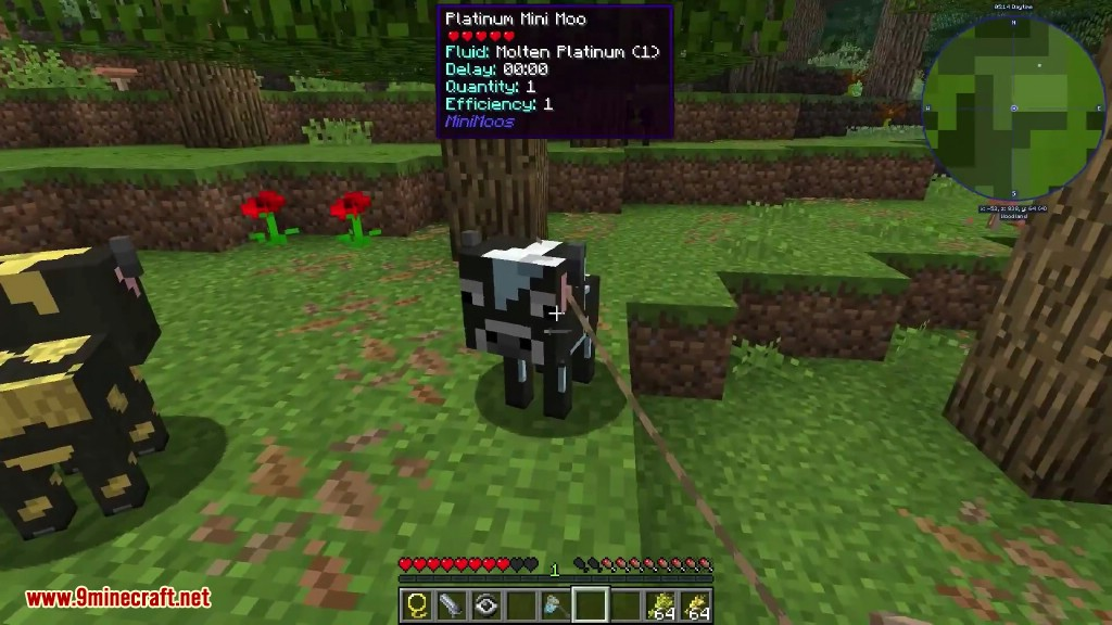 Mini Moos Mod 1 12 2/1 10 2 (Mini Cows) - 9Minecraft Net