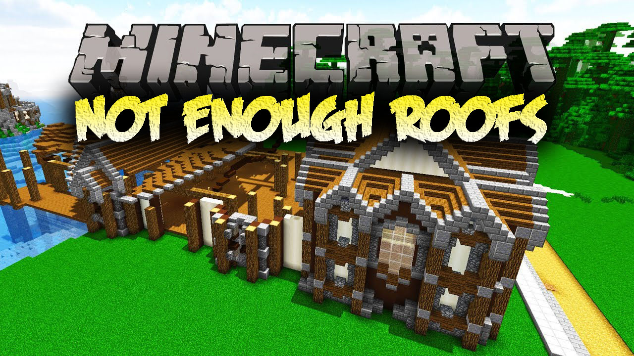 Not Enough Roofs Mod 1 12 2 Easy To Build Roofs 9minecraft Net