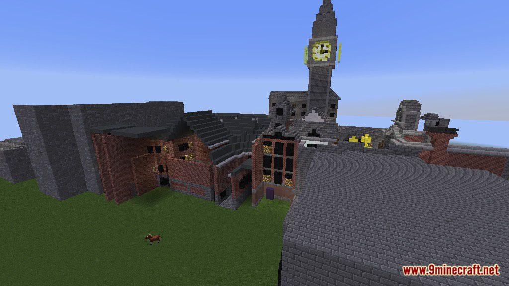 Overwatch King S Row Map 1 12 2 1 12 For Minecraft 9minecraft Net