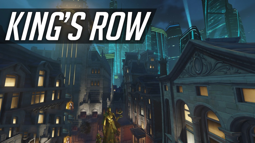 Overwatch King's Row Map 1 12 2/1 12 for Minecraft - 9Minecraft Net