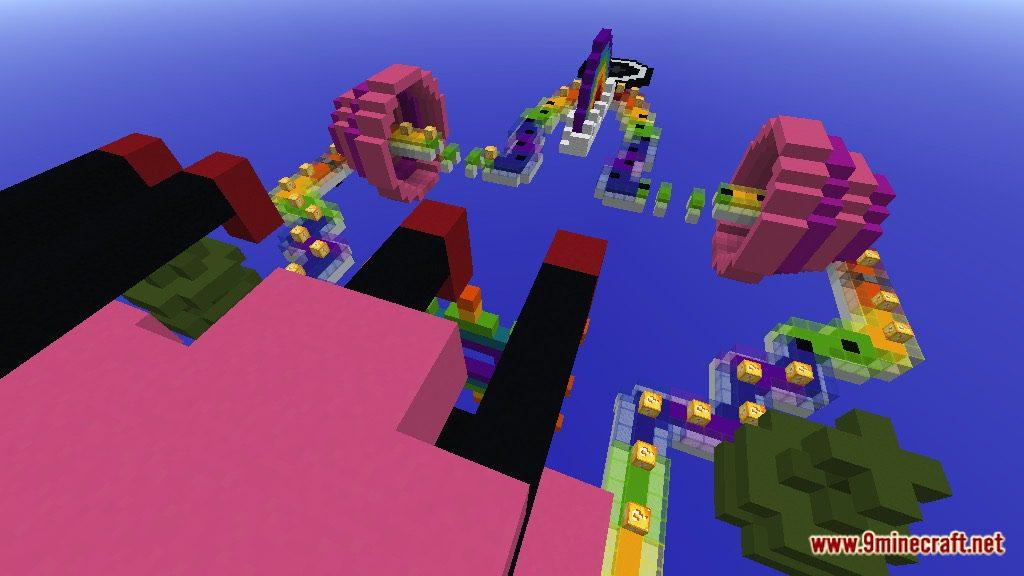 Rainbow World Lucky Block Race Map Screenshots 10