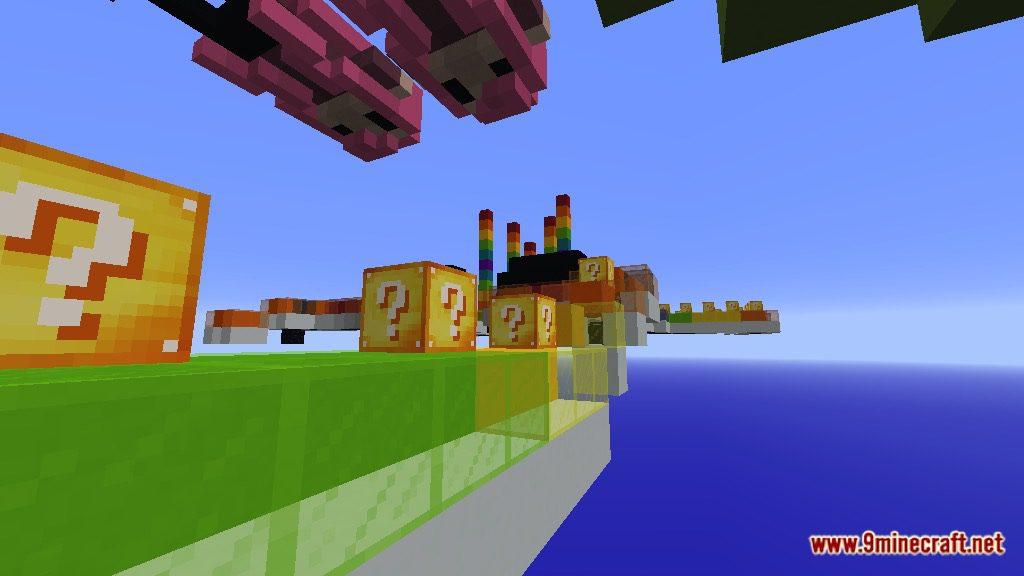 Rainbow World Lucky Block Race Map Screenshots 11