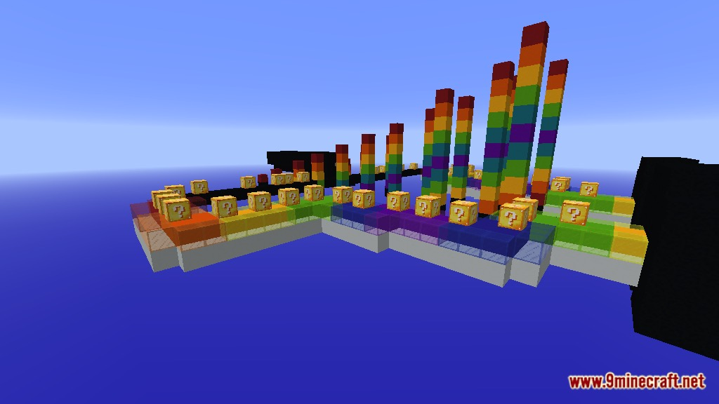 Rainbow World Lucky Block Race Map Screenshots 4