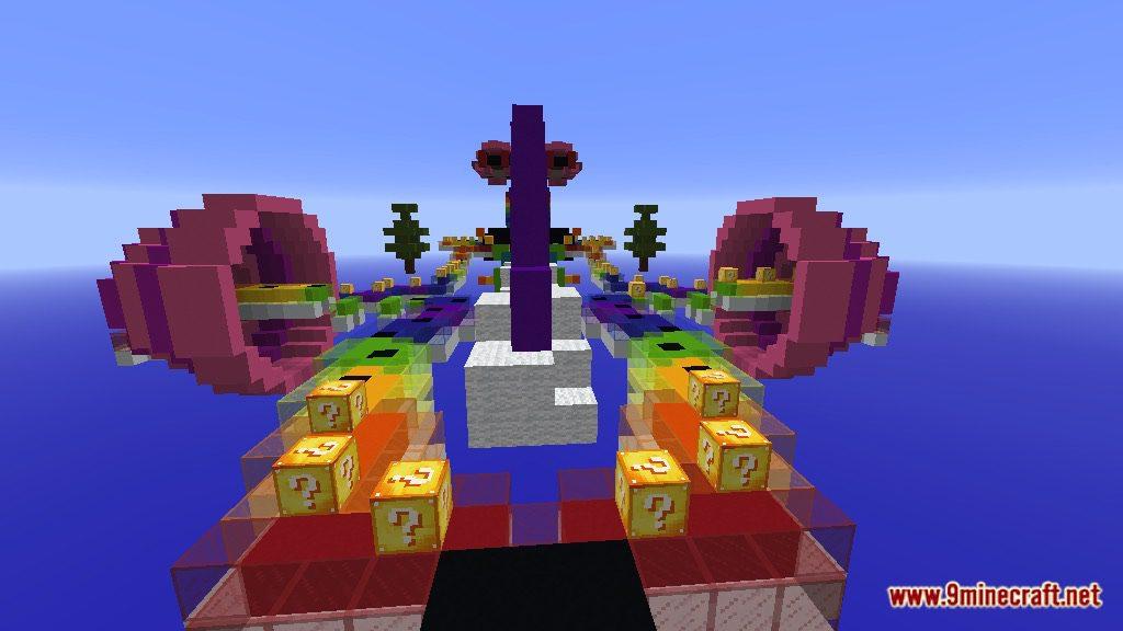 Rainbow World Lucky Block Race Map Screenshots 5