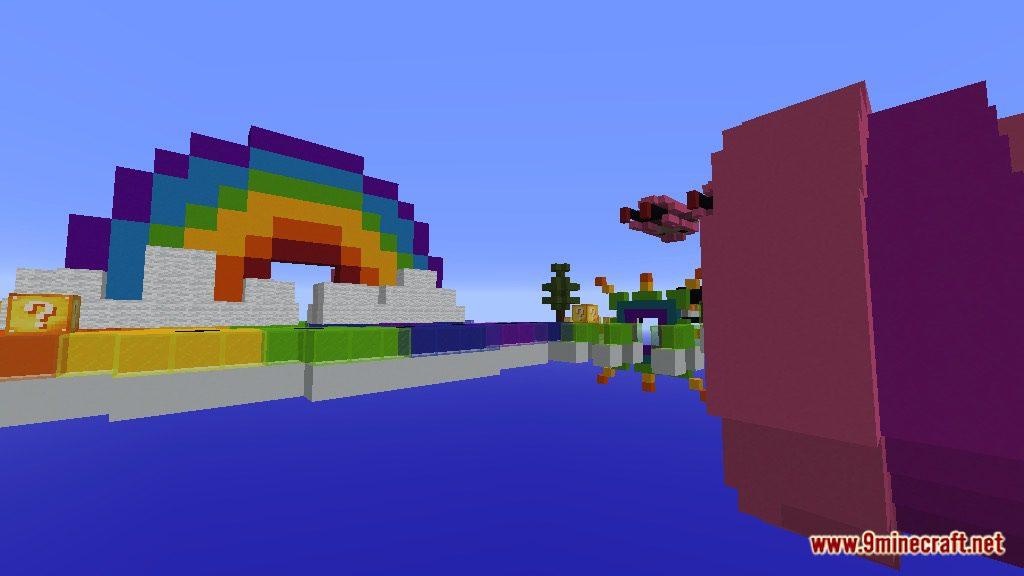 Rainbow World Lucky Block Race Map Screenshots 6