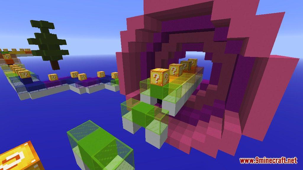 Rainbow World Lucky Block Race Map Screenshots 7