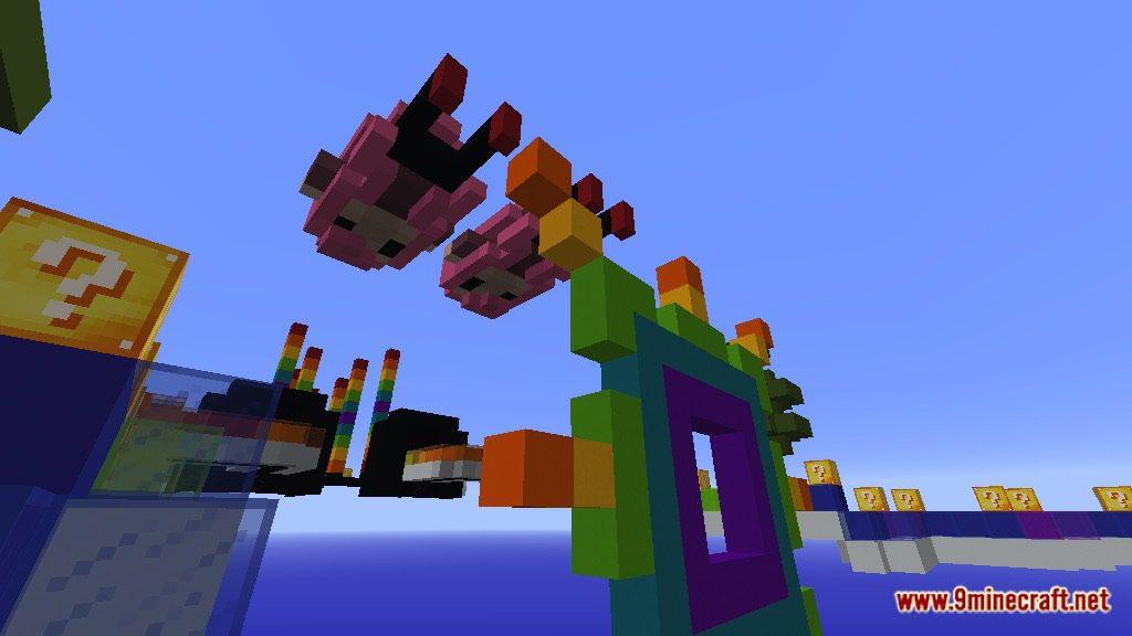 Rainbow World Lucky Block Race Map Screenshots 8