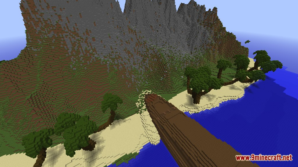 Minecraft Shipwreck Survival Island Map Download