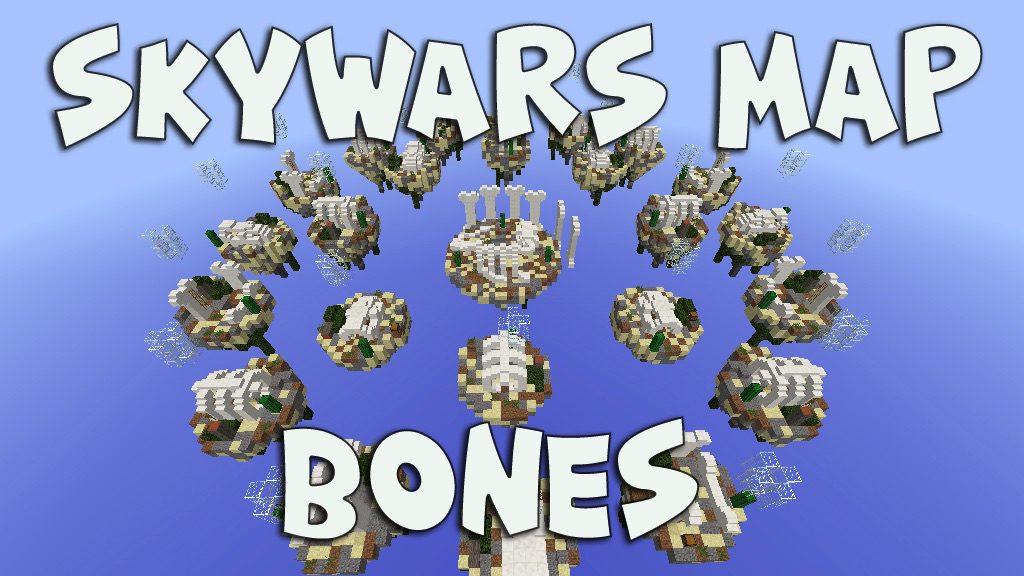 Skywars - Bones Map 1 12 2/1 12 for Minecraft - 9Minecraft Net